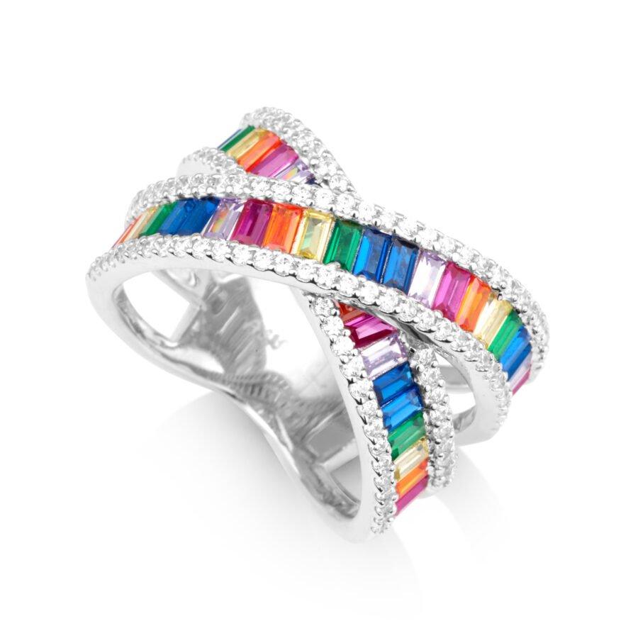 סט- עגילים וטבעת