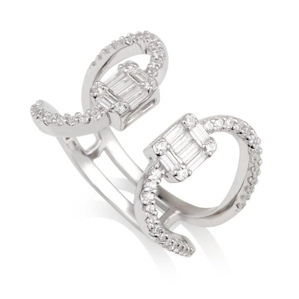 טבעת פתוחה CUBES