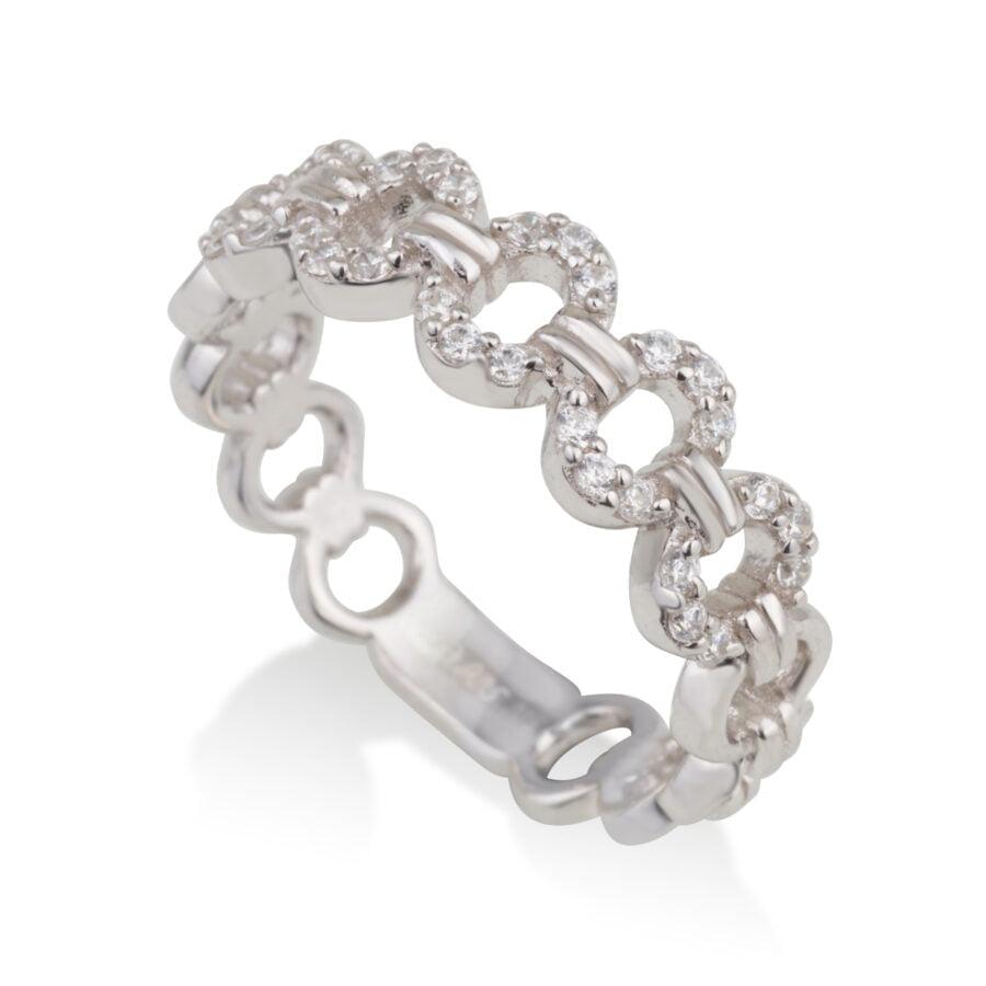 טבעת LINKS לולאות קטנות