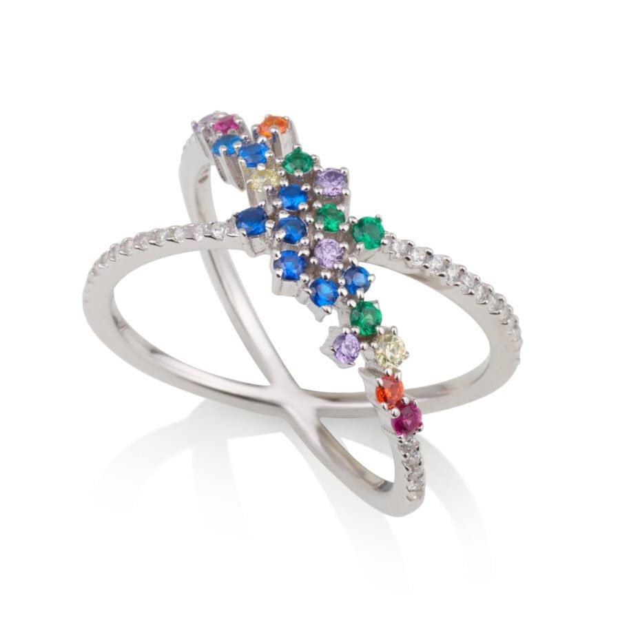 טבעת איקס COLOUR GLAM