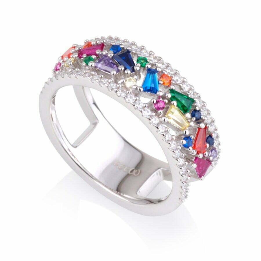 טבעת COLOUR GLAM בגטים