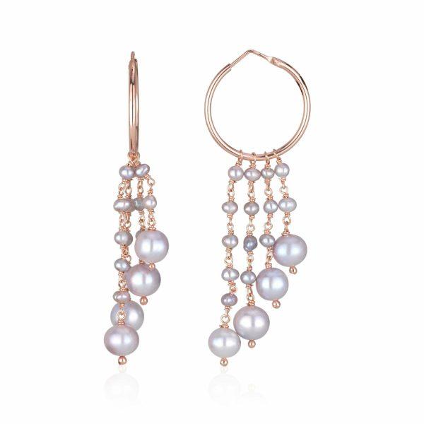 venus pearls earrings